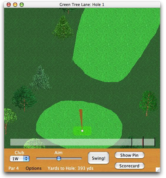 Screenshot 1 for KGA Golf X
