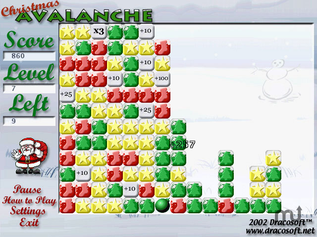 Screenshot 1 for Christmas Avalanche X