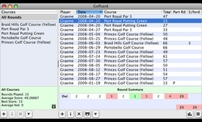 Screenshot 2 for GolfCard