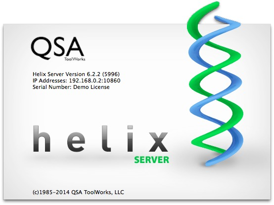 Screenshot 1 for Helix Server