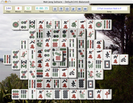 Screenshot 1 for Mah Jong Solitaire