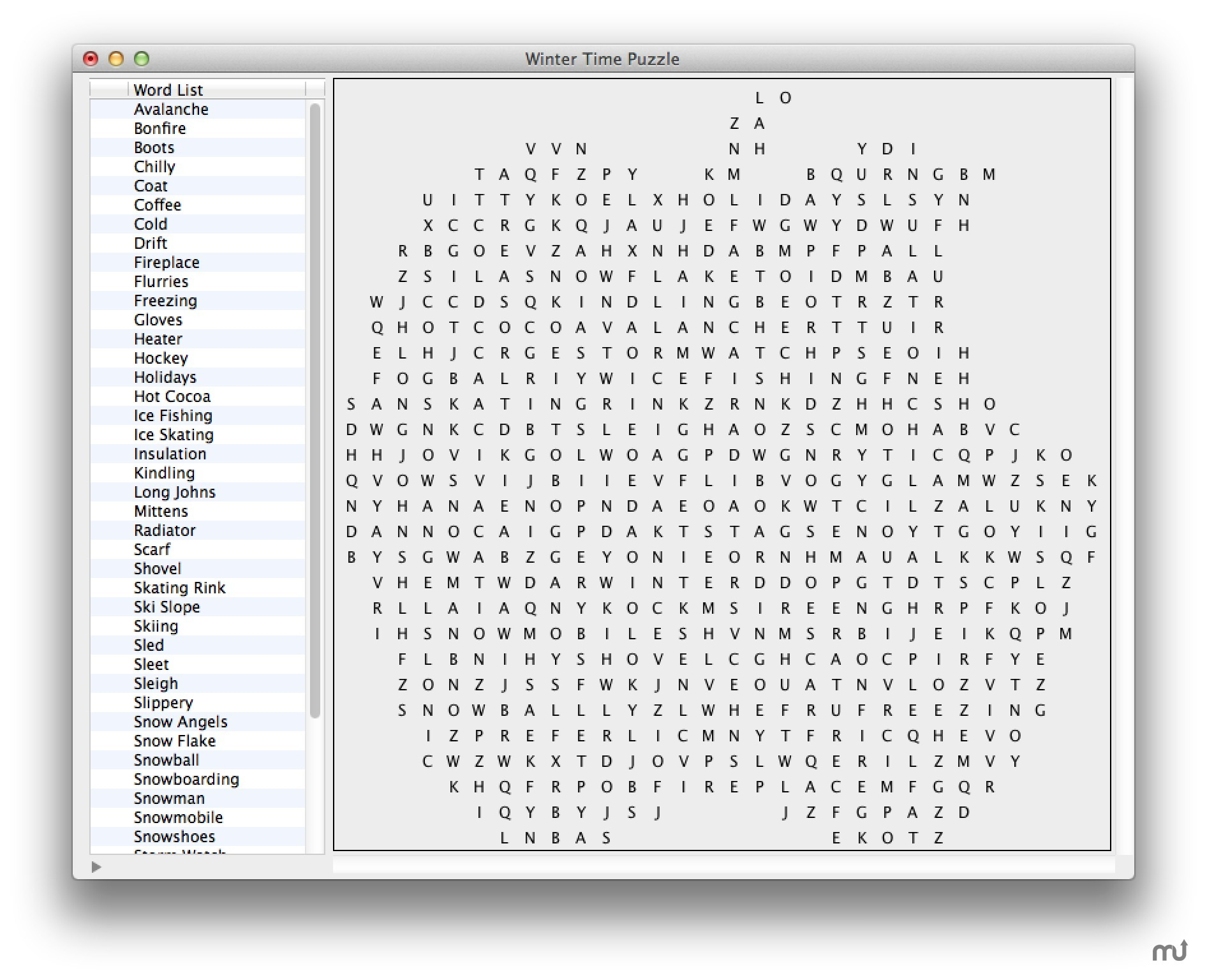 Screenshot 5 for Word Search Creator X