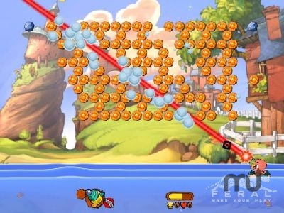 Screenshot 1 for Worms Blast