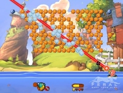 Screenshot 2 for Worms Blast