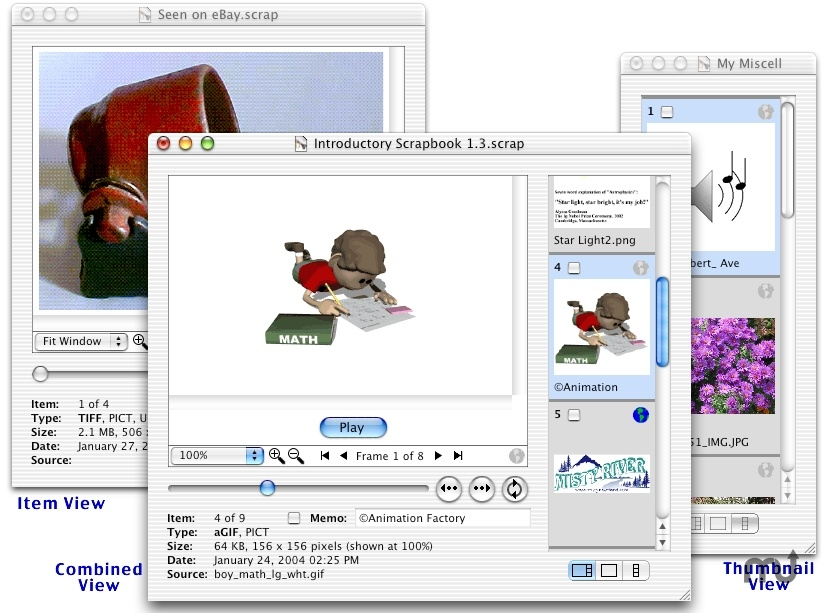 Screenshot 1 for ScrapX