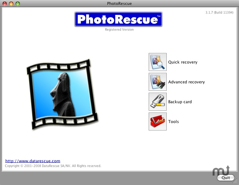Screenshot 1 for PhotoRescue