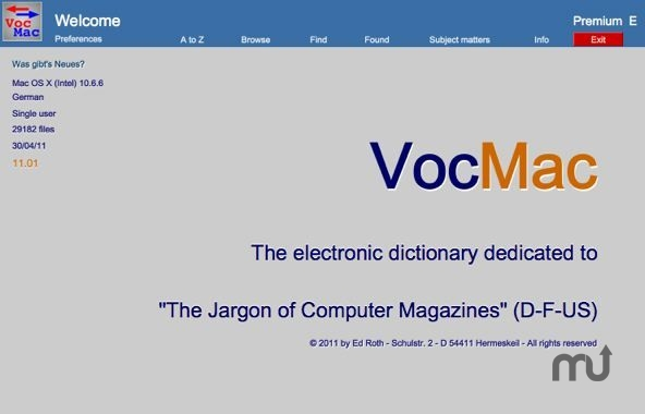 Screenshot 1 for VocMac