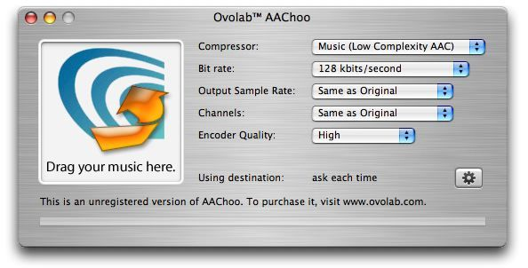 Screenshot 1 for Ovolab AAChoo