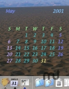 Screenshot 1 for DesktopCalendar