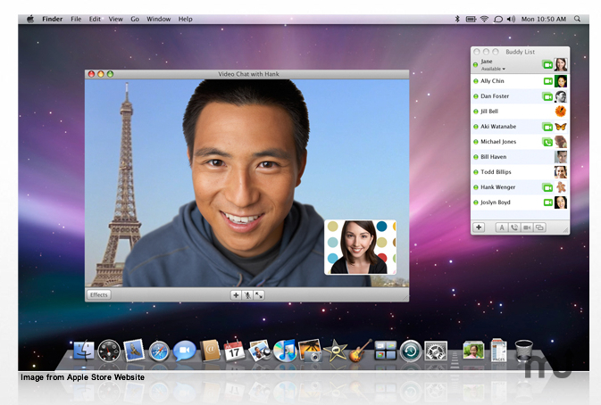 Screenshot 1 for Apple iChat