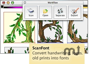 Screenshot 1 for ScanFont