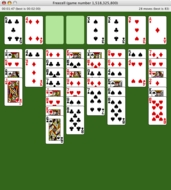 Screenshot 2 for Freecell