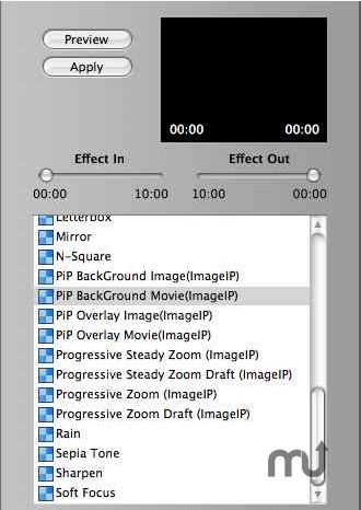 Screenshot 1 for iMovie Picture in Picture Plug-in