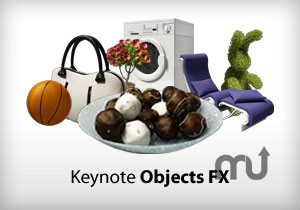 Screenshot 1 for Keynote Objects FX