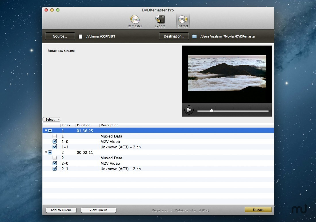 Screenshot 3 for DVDRemaster