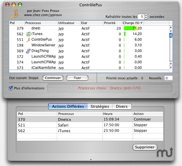 Screenshot 1 for ControlePus