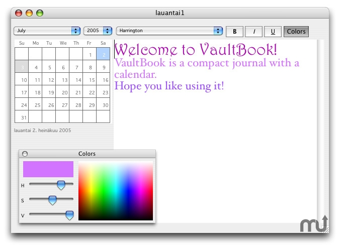 Screenshot 1 for VaultBook