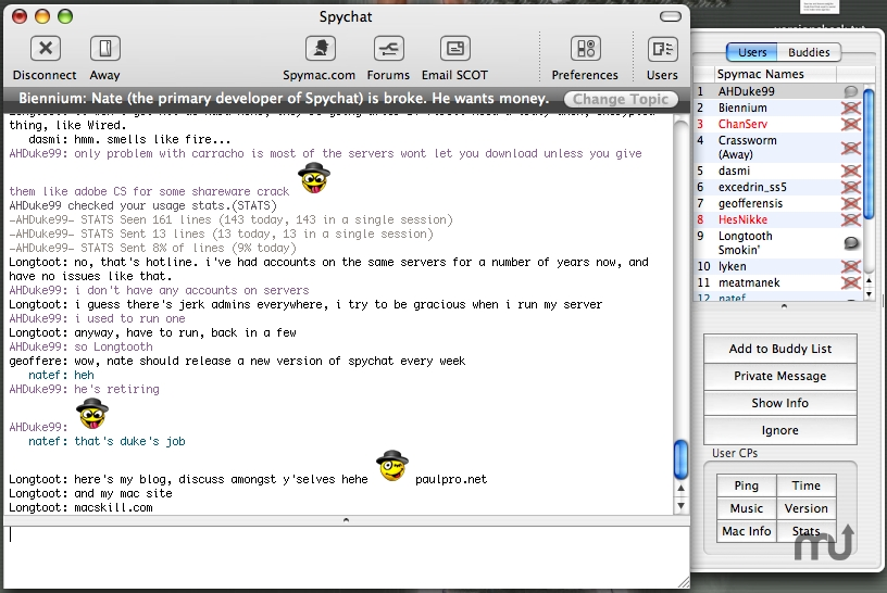 Screenshot 1 for SpyChat