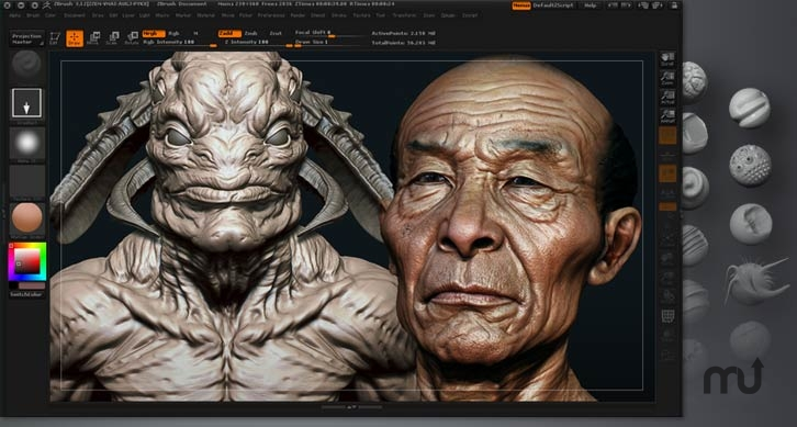 Screenshot 1 for ZBrush