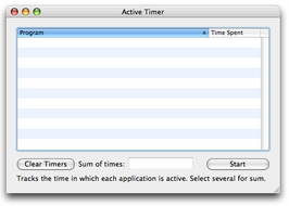 Screenshot 2 for Active Timer