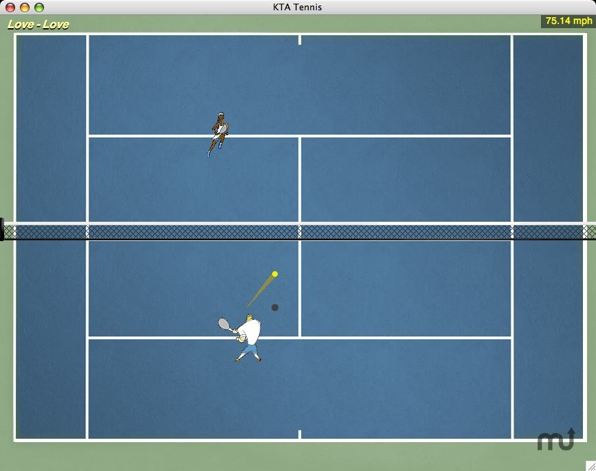 Screenshot 1 for KTA Tennis
