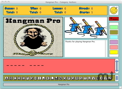 Screenshot 1 for Hangman Pro