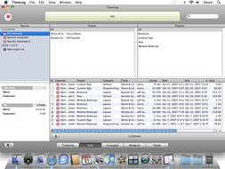 Screenshot 2 for TimeLog