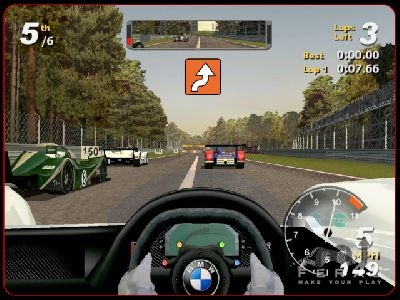 Screenshot 1 for Total Immersion Racing