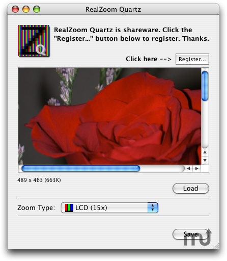 Screenshot 1 for RealZoom Quartz