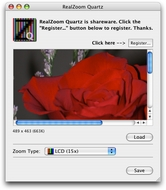 Screenshot 2 for RealZoom Quartz