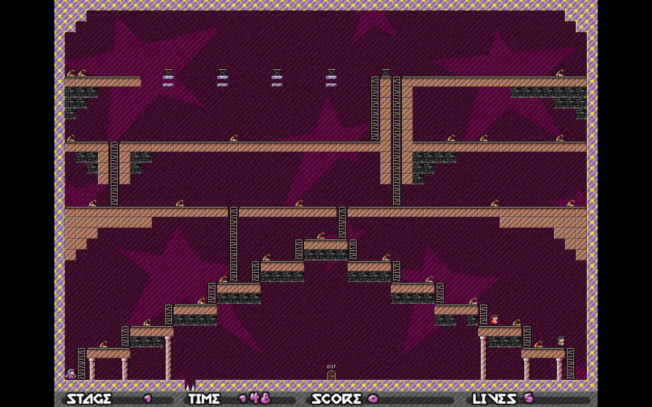 Screenshot 2 for Android Best Retro Lode Runner