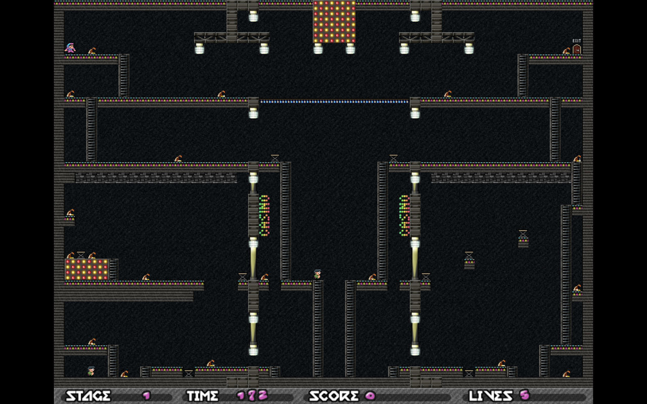 Screenshot 5 for Android Best Retro Lode Runner