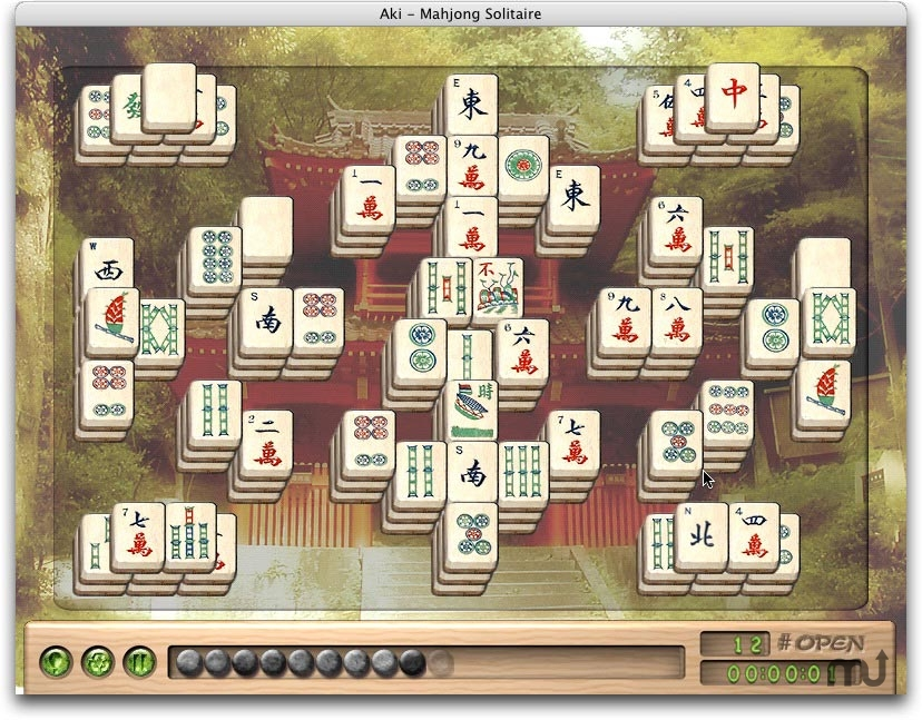Screenshot 1 for Aki Mahjong Solitaire