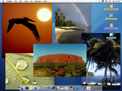 Screenshot 1 for DesktopCollage