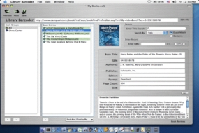 Screenshot 2 for Library ISBN Barcoder