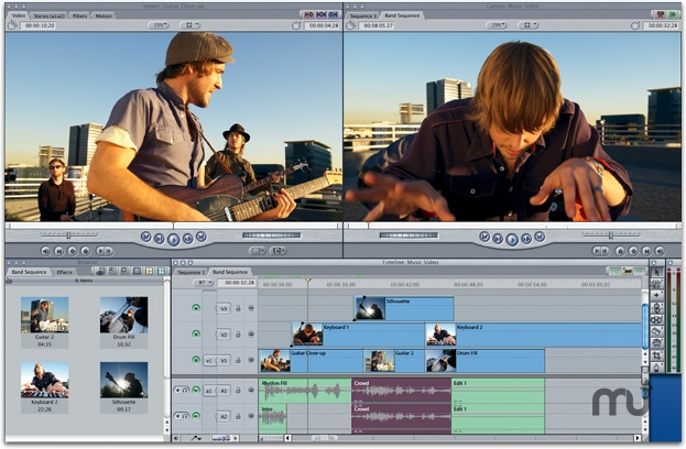 Screenshot 1 for Apple Final Cut Express