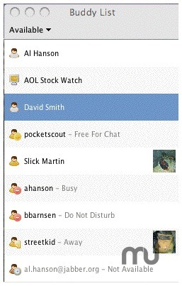 Screenshot 1 for JBuddy Messenger