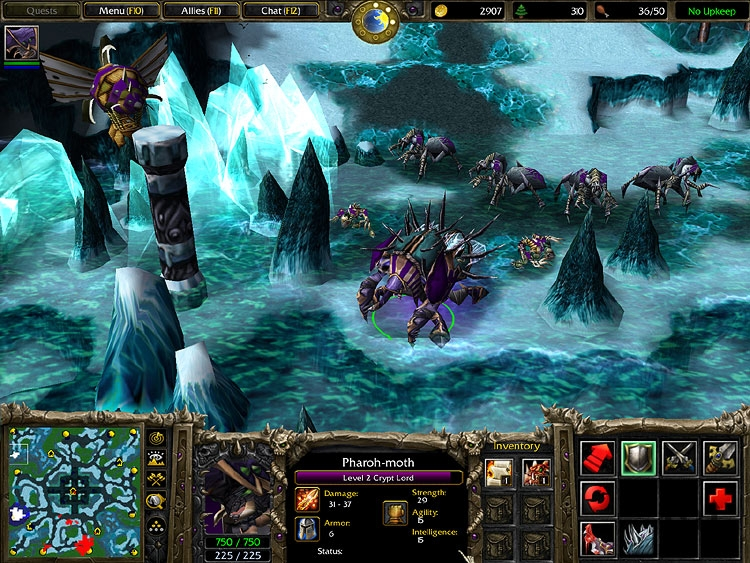 Resultado de imagen para WARCRAFT III: THE FROZEN THRONE