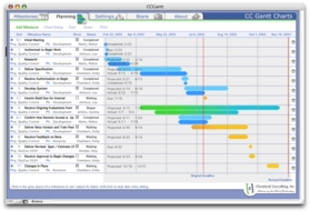 Screenshot 2 for CC Gantt Charts