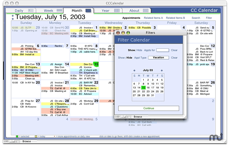 Cc Calendar 545 Free Download For Mac Macupdate