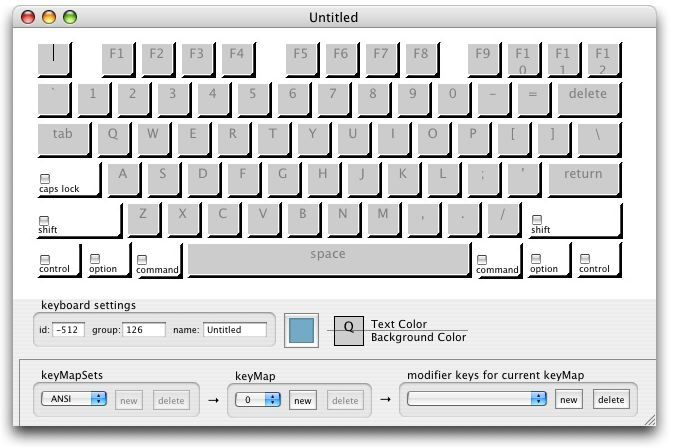 Screenshot 1 for Keyboard Builder