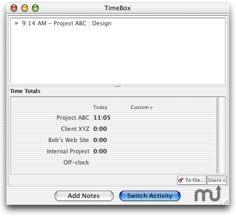 Screenshot 1 for TimeBox