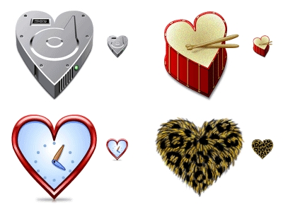 Screenshot 2 for Hearts Icons