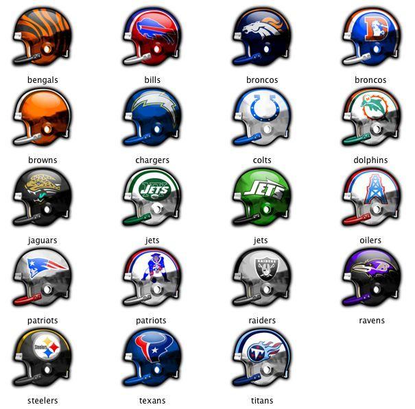 Screenshot 1 for NFL Helmets