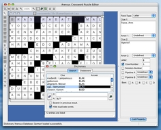 Screenshot 2 for Arensus Crossword Puzzle Editor