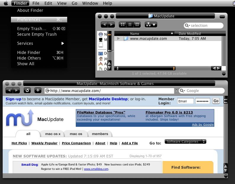 Screenshot 1 for Xi-Tibook2
