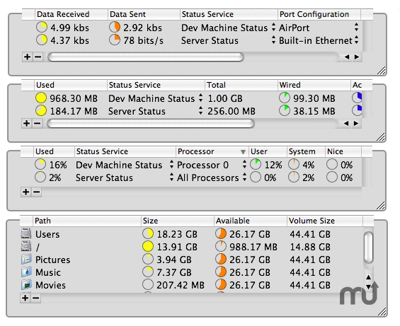 Screenshot 1 for StatusMonitors