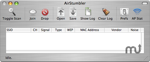Screenshot 1 for AirStumbler
