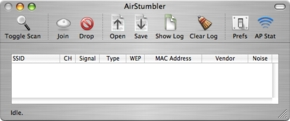 Screenshot 2 for AirStumbler