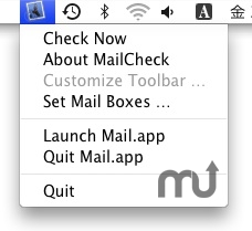 Screenshot 1 for MailUnreadStatusBar